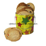 Cookie Tin Box, Metal Tin Box, Luxury Metal Packing Box, Cookie Tin Box, Biscuit Box, Food Tin Packaging Box