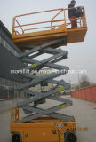 Aerial Working Mobile Scissor Lift Table With Battery Powered