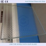 Matte Glass and Backsplashes Glass with Acid Etched Glass