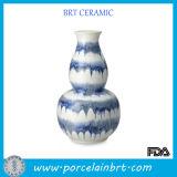 Calabash Shaped Ceramic Porcelain Vase