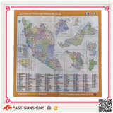 Map Printing Microfiber Cleaning Cloth for Lens/PC/Goggle/Camera, etc
