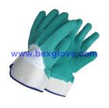 Yellow Latex Glove, Safety Cuff