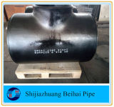 Carbon Steel Butt Welded Equal Tee/Cross/Pipe Fitting/Elbow/Reducer/Cap/Bend
