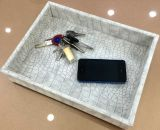 Imitation Leather Family Tray for Keys or Phones