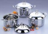 3PCS Set Stainless Steel Saucepot