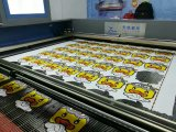 Water-Cooling Printed Fabric Automatic Edge Tracking Cutting Machine