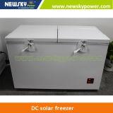 233L, R134A Compressor Large Solar Fridge Freezer