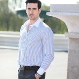 2014 Slim Fit Men′s Bespoke Shirt (ST 20130047)