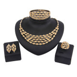 Fashion Jewelry Set, Gold Jewelry, Middle East Gold Jewelry Set