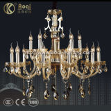 Hot Sale Decoration Glass Tube Crystal Chandelier Lamp (AQ20042-10+5)