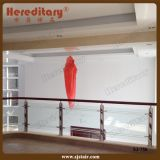 Tempered Glass Railing System for Villa Porch and Stair (SJ-750)