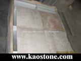 Red Cream Marble Floor Tiles