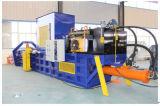 Horizontal automatic hydraulic baling press