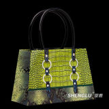 Handmade Classic Fashion Paper Shopping Wine Bag (SL01B)