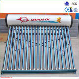 Compact Vacuum Tube Non-Pressurized Solar Water Heater System for Home/School/Hotel