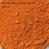 Plastic and Rubber Used Coated Orange Chromeyellow