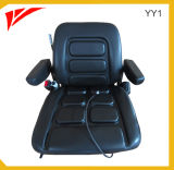 Suspension Folding Forklift Seat with Seat Belt