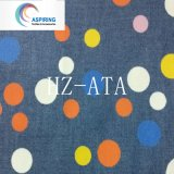 100% Cotton Spot Print Denim Fabric for Children′s Garment