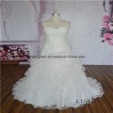 Ruffle Mermaid Sweetheart Sexy Wedding Dress
