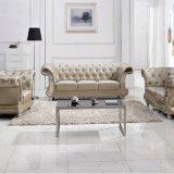 Modren Small Apartment Living Room Sofa Set Leather Sofa