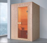 1200mm Rectangle Solid Wood Sauna for 2 Persons (AT-8628)