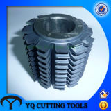 HSS Module Pregrind Gear Hobbing Cutter with Tialn Coating