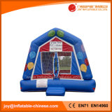 Blue Air Balloon Theme Bounce House Inflatable Bouncer (T1-207)