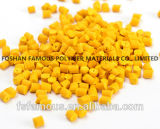 High Pigment Yellow Masterbatch with Vivid Color and Glossy Surface