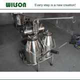 Piston Type 2 Buckets Milking Machine