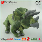 Realistic Stuffed Animal Dinosaur Plush Toy Triceratops