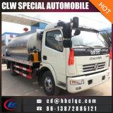 Standard 5ton 6ton Asphalt Distribution Sprayer Tank Truck Asphalt Paver