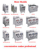 Ofe-H321 Electric&Gas Automatically Lift Open Computer Control Panel Deep Fryer