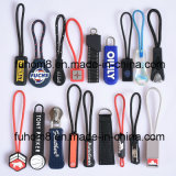 Customized Plastic Rubber Zipper Puller for Garment