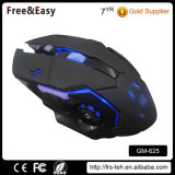 Professional 6D 3200dpi LED Optical Wired Gaming Mouse