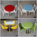 Custom Artificial Stone Round Restaurant coffee Table