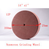 "14""X1"" 12p Polishing Cleaning PU Grinding Wheel Abrasive Pad Non Woven Grinding Disc"