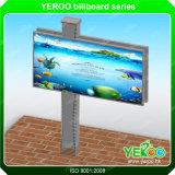 City Outdoor Steel Billboard/Advertising Backlit LED Lightbox Billboard