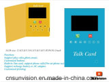"Business Marketing 7"" LCD Talking Card Can Make Phone Call"