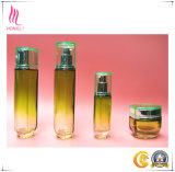 Polygon Yellow Skin Care Clear Empty Pump Bottles