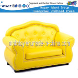 Children Furniture Leather Double Seat Sofa (HF-09812)