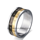 Custom Made Roma Rome Roman Numerals Secret Password Letters Rotating Spinning Rings
