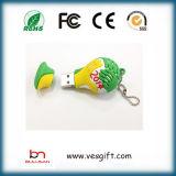 Cute Shape USB PVC Flash Driver USB Flash Memorry Disk