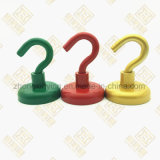 Customized Colorful Pot Magnet with Hook, Strong Magnet