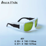 High Security Laser Protection Safety Glasses Alexandrite 808&980nm Diodes Laser Machine Protection Glasses Eye Protective Safety Goggles, Safety Glasses