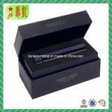 Black Lid Cardboard Paper Gift Box with Insert