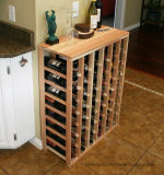 48 Bottle Table Wine Rack Stackable Storage Wine Bottle Rack