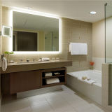 Custom Hotel Bevel Edge Anti Fog Bath LED Mirror