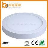 AC85-265V Round 400mm 30W Dimmable Indoor Office Down Ceiling Panel Light