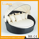 Outdoor Beach Pool Garden Furniture PE Rattan Sunbed Disassemble Daybed