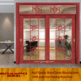 Top Quality Interior Wooden Glass Sliding Door (Gsp3-009)